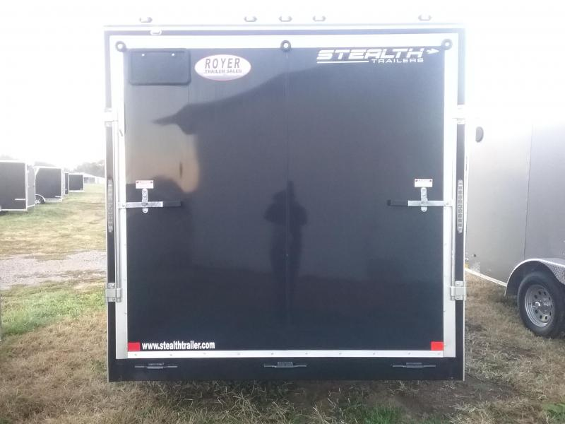 """2019 Stealth Trailers Titan 7x14 6"""" Additional Height Enclosed Cargo Trailer"""