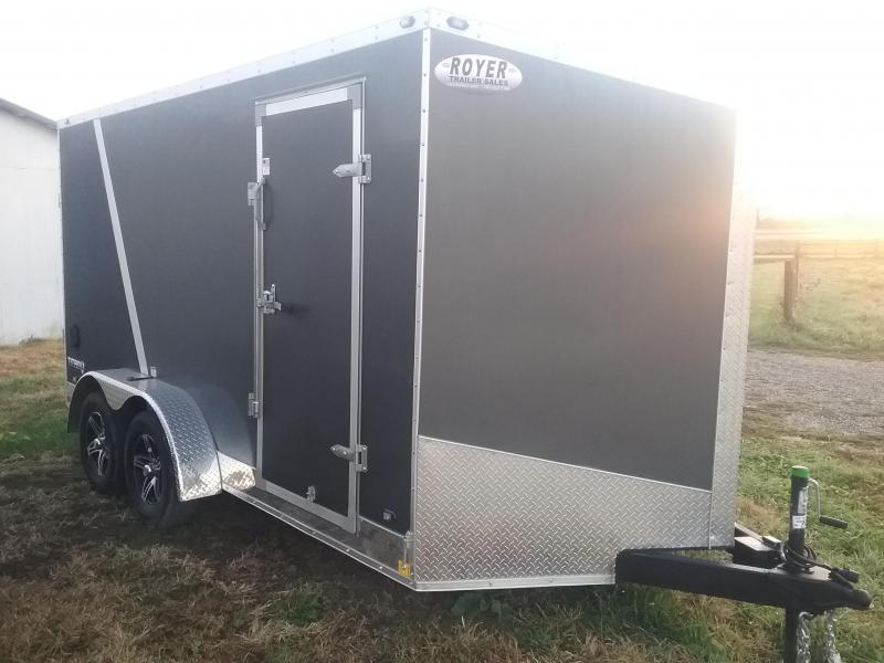 "2019 Stealth Trailers Titan 7x14 6"" Additional Height Enclosed Cargo Trailer"