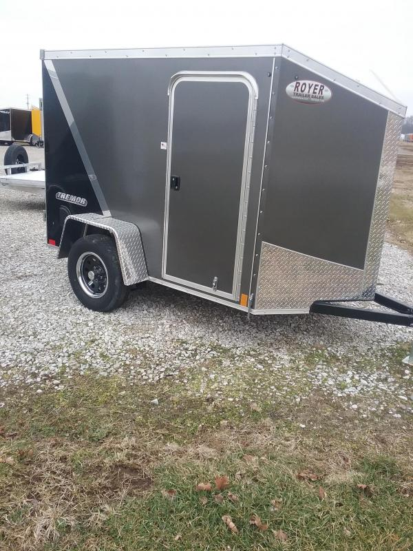 "2019 Impact Trailers 5x8 (+6"" Additional Height) Tremor Enclosed Cargo Trailer"