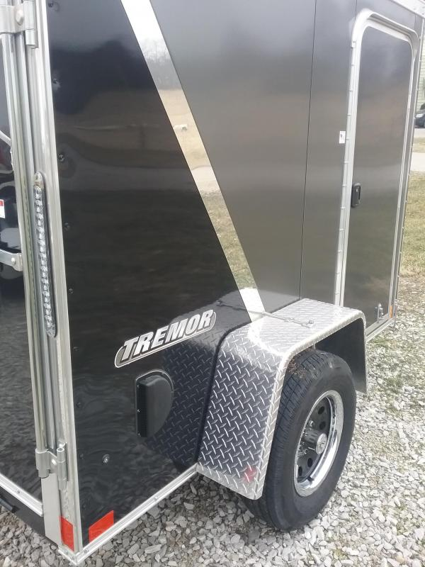 """2019 Impact Trailers 5x8 (+6"""" Additional Height) Tremor Enclosed Cargo Trailer"""