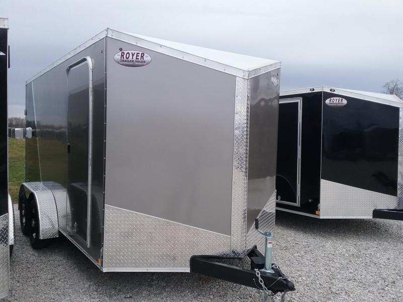 "Impact 7X14 (+6"" Extra Interior Height) Shockwave Enclosed Cargo Trailer"