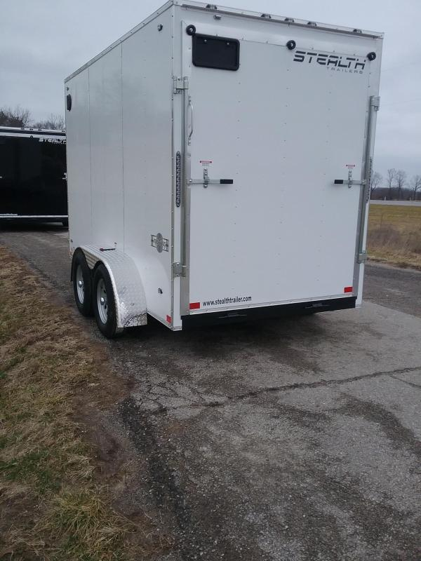"2019 Stealth 6x12 Mustang (+12"" Additional Height) Enclosed Cargo Trailer"