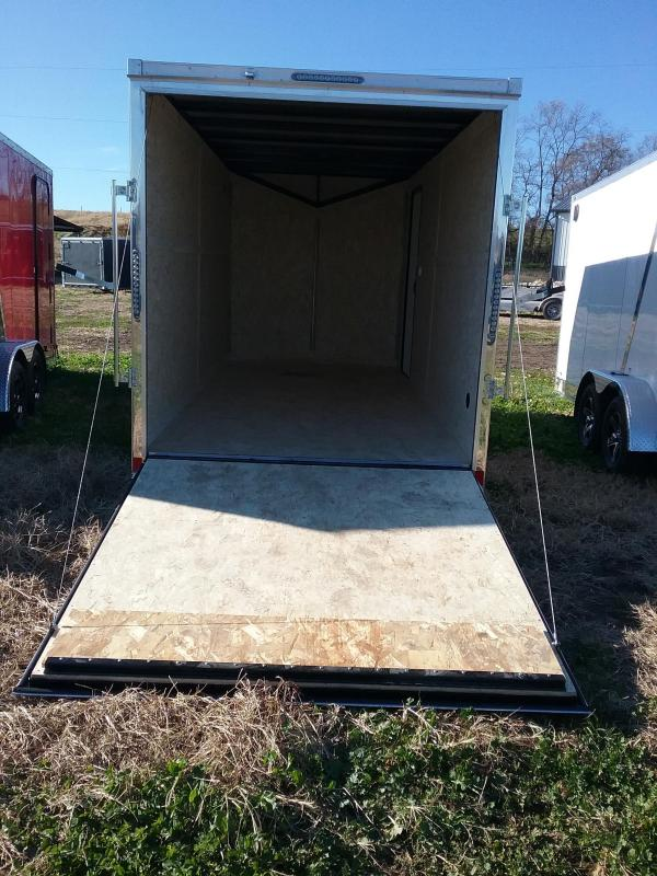 """2019 Impact Trailers Tremor 7x16 (12"""" Additional Height) Enclosed Cargo Trailer"""