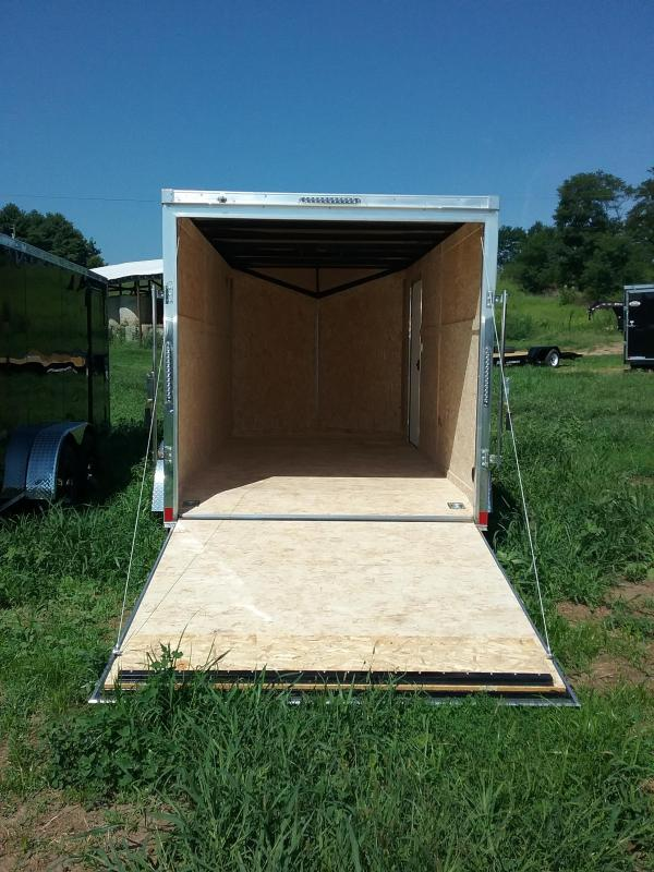 """7X16 (+6"""" Extra Height) Impact Shockwave Enclosed Cargo Trailer"""