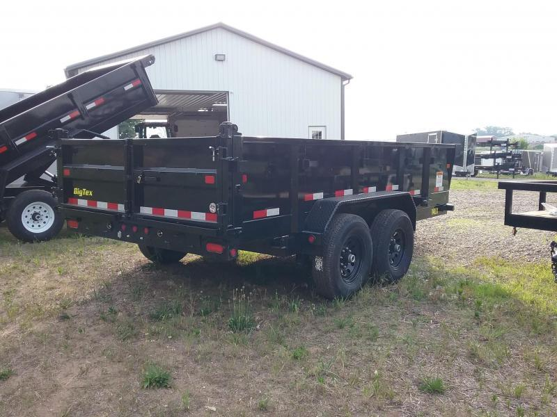 Big Tex 14LX 14 Foot Dump Trailer