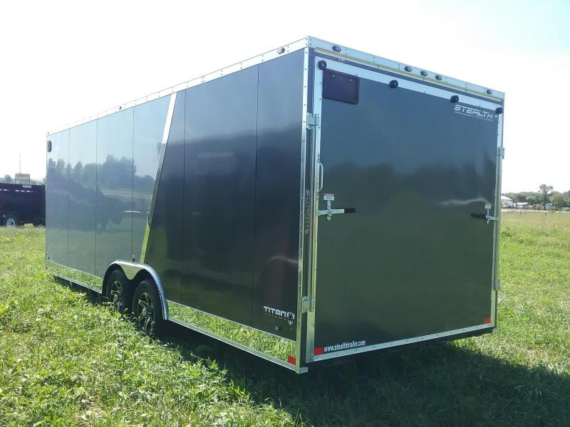 "8.5X22 (+6"" Extra Height) Stealth Titan Enclosed Cargo Trailer"