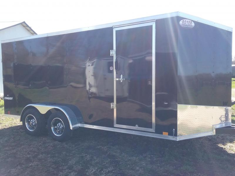 2019 Formula Trailers 7x16 (6 Additional Height) Formula Conquest Enclosed Cargo Trailer