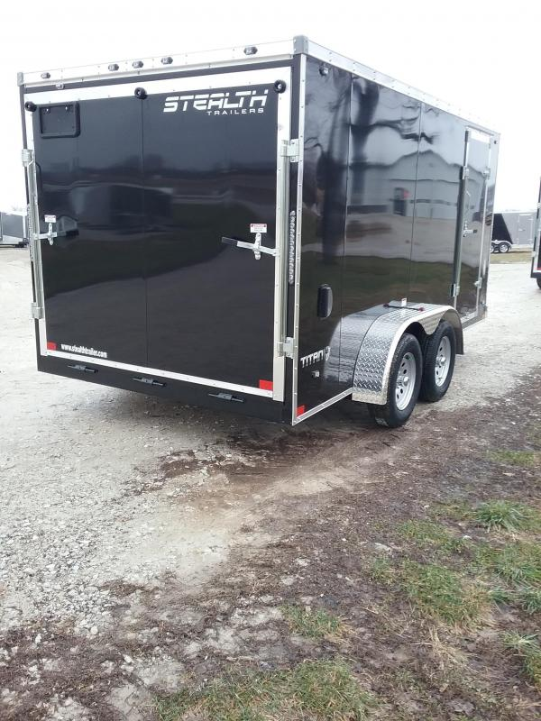 7x14 Stealth Titan Enclosed Cargo Trailer