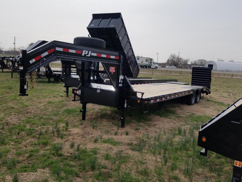 32' PJ-12K Axles- Elec/Hyd Brakes- Slide Winch Track-Monster Ramps