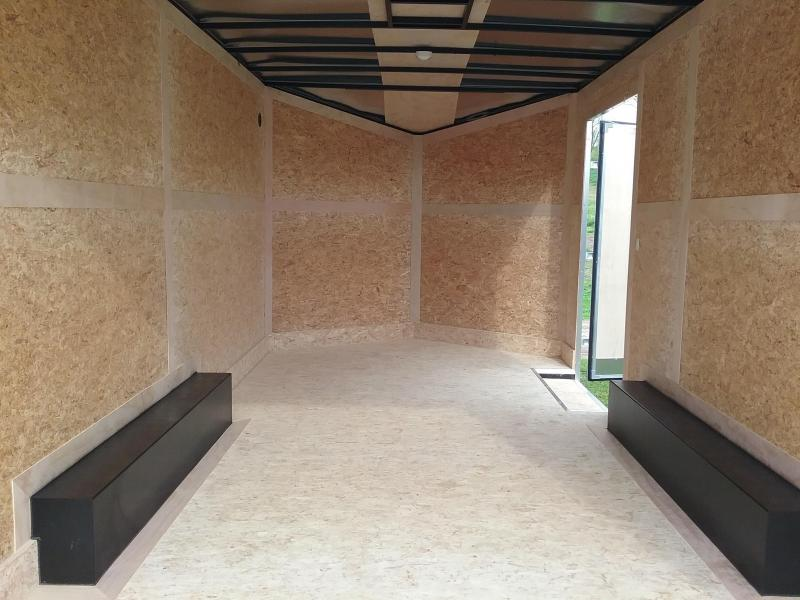 """8.5x16 (+6"""" Additional Height) Stealth Titan Enclosed Cargo Trailer *HAIL DAMAGED-CALL FOR DISCOUNT PRICING*"""