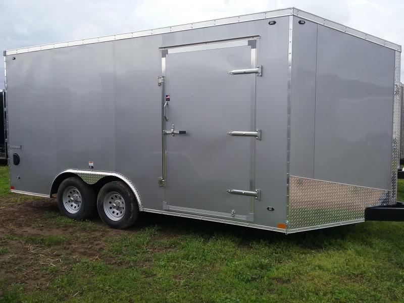"8.5x16 (+6"" Additional Height) Stealth Titan Enclosed Cargo Trailer *HAIL DAMAGED-CALL FOR DISCOUNT PRICING*"
