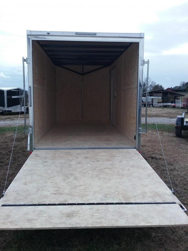 "Impact 7X14 (+12"" Extra Interior Height) Shockwave Enclosed Cargo Trailer"