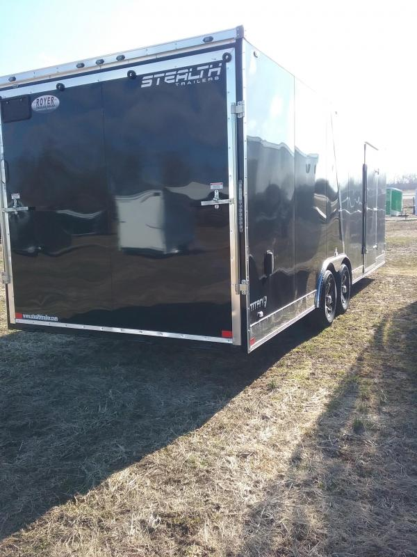 """2019 Stealth Titan 8.5x24 (+6"""" Additional Height)  Enclosed Cargo Trailer"""