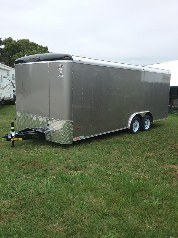 2019 Atlas Specialty Trailers Utility 8x20 Enclosed Cargo Trailer
