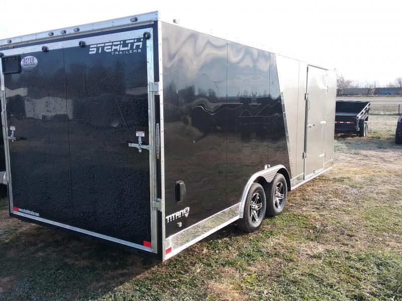 2019 Stealth Titan 8.5x20 Enclosed Cargo Trailer
