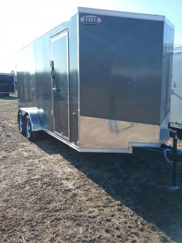 "7x16 (+12"" Additional Height) Formula Conquest Enclosed Cargo Trailer"