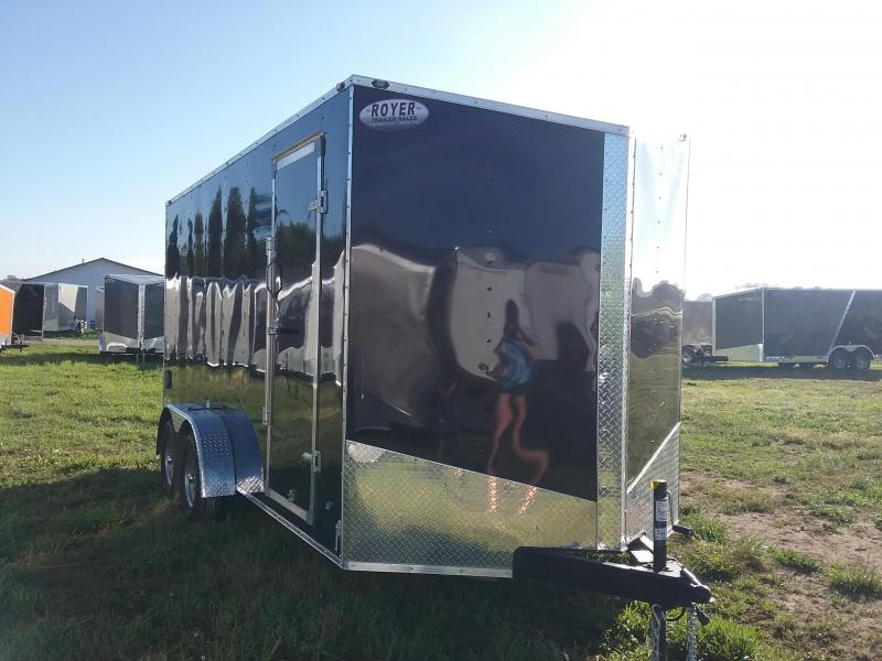 7X16 Plus 12 Inches Stealth Mustang Enclosed Cargo Trailer