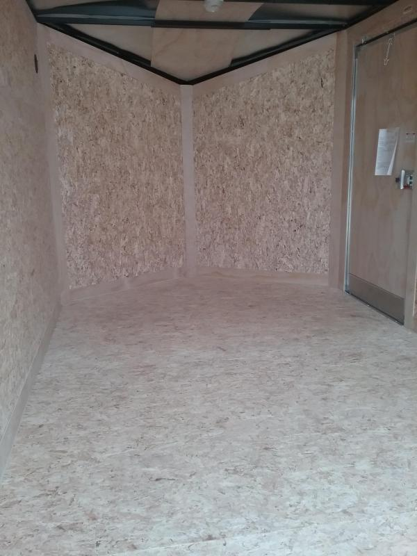 7x12 Stealth Titan Enclosed Cargo Trailer with Flash Package