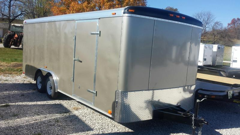Atlas Specialty Trailers 8 X 20 Enclosed Cargo Trailer