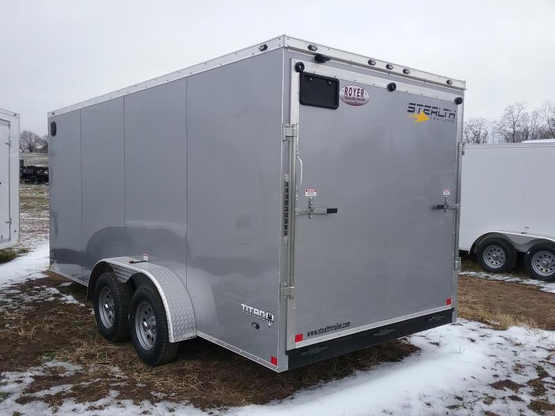Stealth 7X16 Pus 6 Inches Titan Enclosed Cargo Trailer