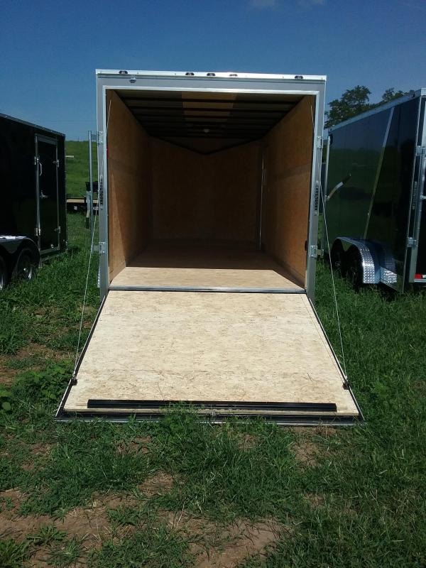 """7X16 (+6"""" Extra Height) Stealth Mustang Enclosed Cargo Trailer"""
