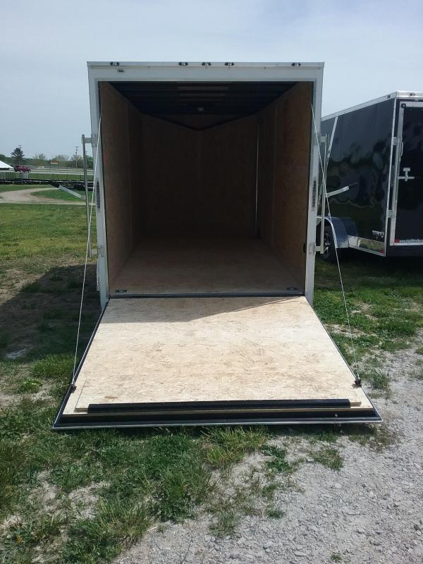 7X16 Plus 12 Inches Stealth Mustang Enclosed Trailer