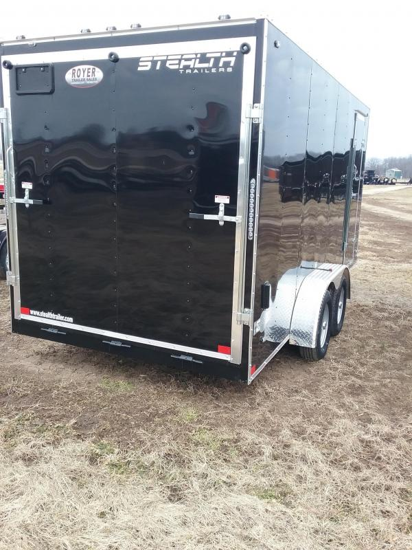 2019 Stealth 7X16 Mustang Enclosed Cargo Trailer
