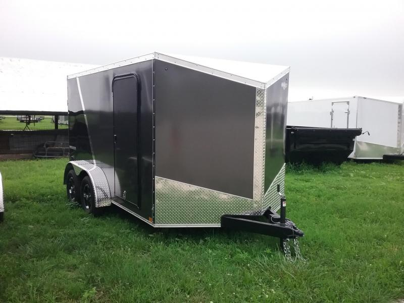 7X12 Impact Shockwave Enclosed Cargo Trailer