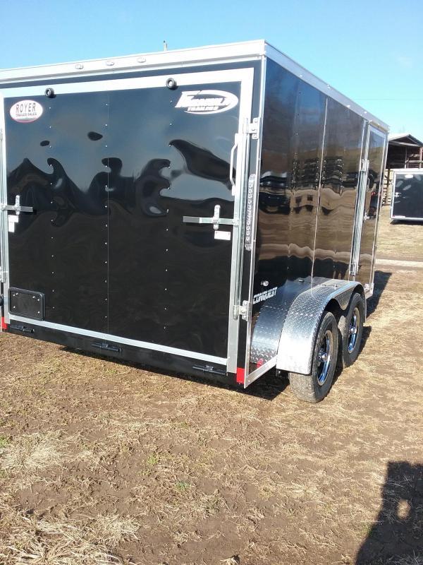 7x12 Formula Conquest Enclosed Cargo Trailer
