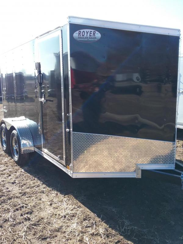 7x12 Formula Conquest Enclosed Cargo Trailer*HAIL DAMAGED-CALL FOR DISCOUNT PRICING*