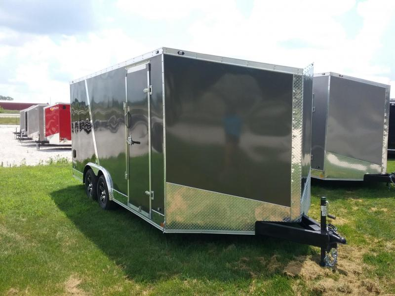 8.5X16 Stealth Titan Enclosed Cargo Trailer