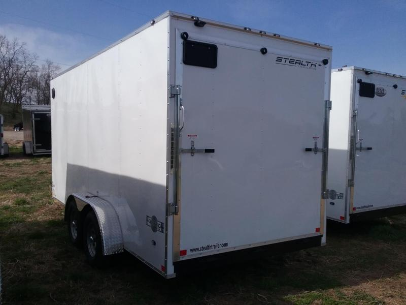7X16 Plus 12 Stealth Mustang Enclosed Cargo Trailer