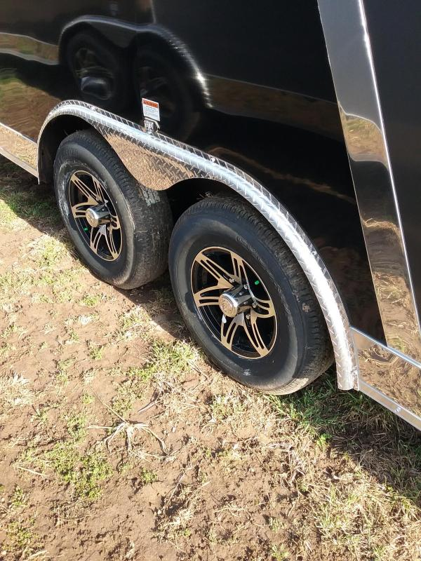 8.5x20 Stealth Titan with 5200 Axles Enclosed Cargo Trailer