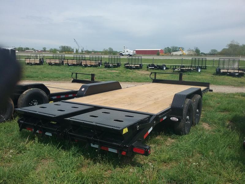 14ET 20 Foot Big Tex Equipment Trailer
