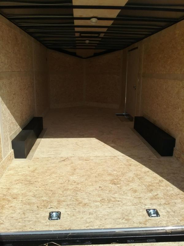 8.5x20 Stealth Titan Enclosed Trailer with 5200# Axles