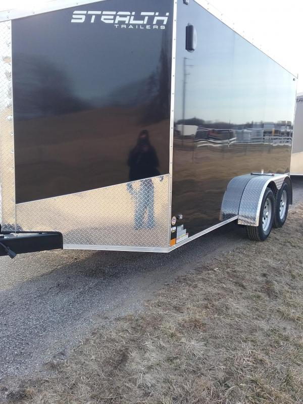 2019 Stealth 7X14 Titan Enclosed Cargo Trailer