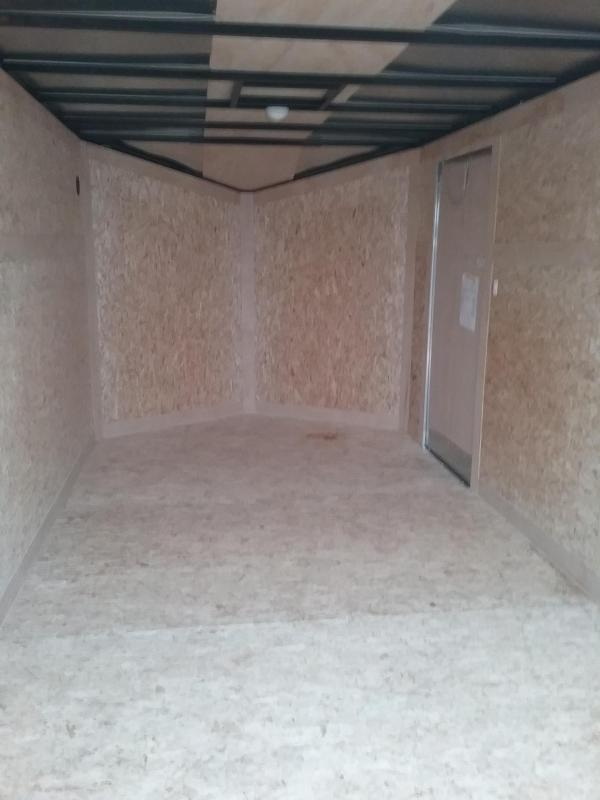 7x14 Stealth Titan Enclosed Cargo Trailer *HAIL DAMAGED-CALL FOR DISCOUNT PRICING*