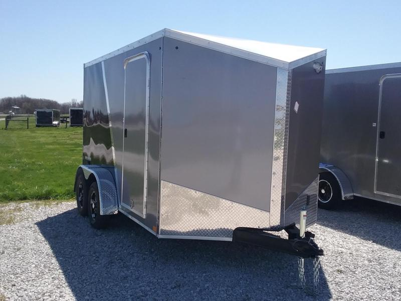 "7X12 (+6"" Extra Interior Height) Impact Shockwave Enclosed Cargo Trailer"