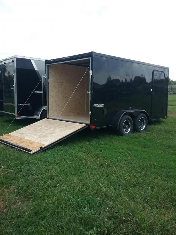 2018 Impact Trailers Tremor 7x14 Enclosed Cargo Trailer