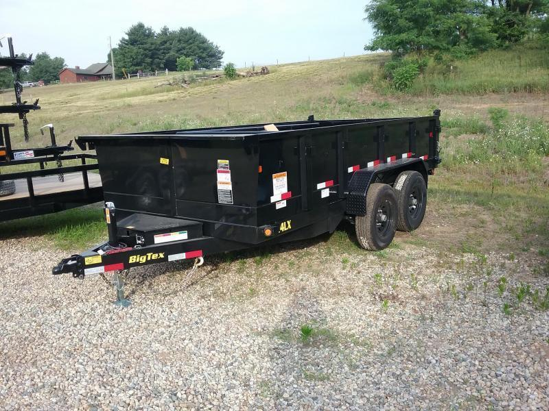 Big Tex 14LX 14 Foot Dump Trailer