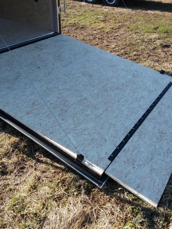 """7x16 (+12"""" Additional Height) Stealth Mustang Enclosed Cargo Trailer"""