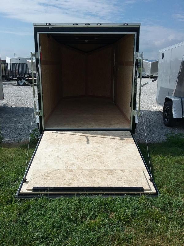 6X12 Stealth Mustang Enclosed Cargo Trailer