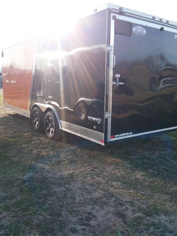 2018 Stealth Trailers 8.5x20 Titan Enclosed Cargo Trailer