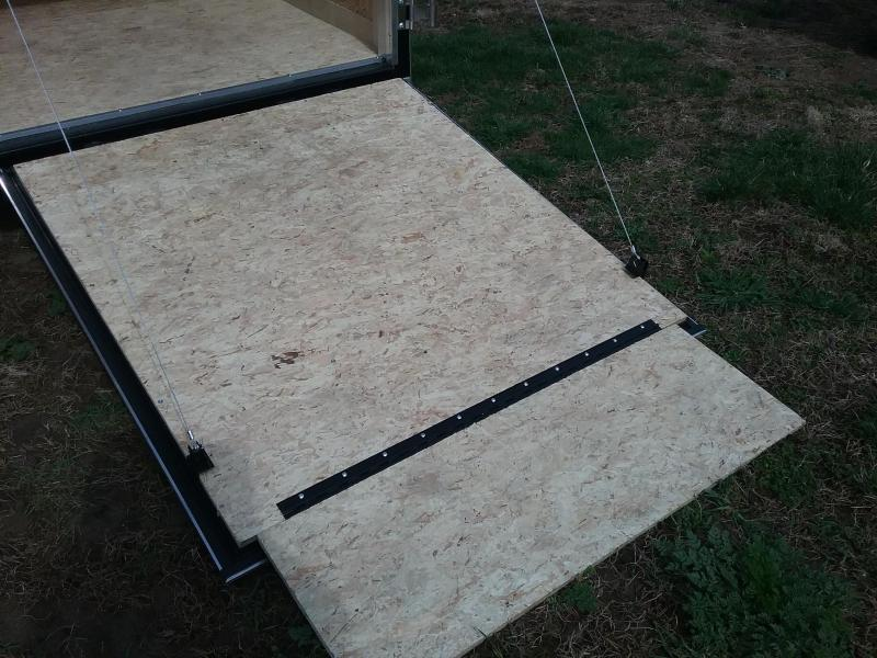 5x8 Stealth Mustang Enclosed Trailer