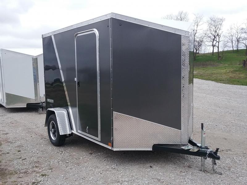 6X10 Plus 6 Inches Impact Tremor Enclosed Cargo Trailer