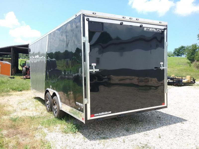 8.5X20 Plus 6 Inches Stealth Titan Enclosed Cargo Trailer