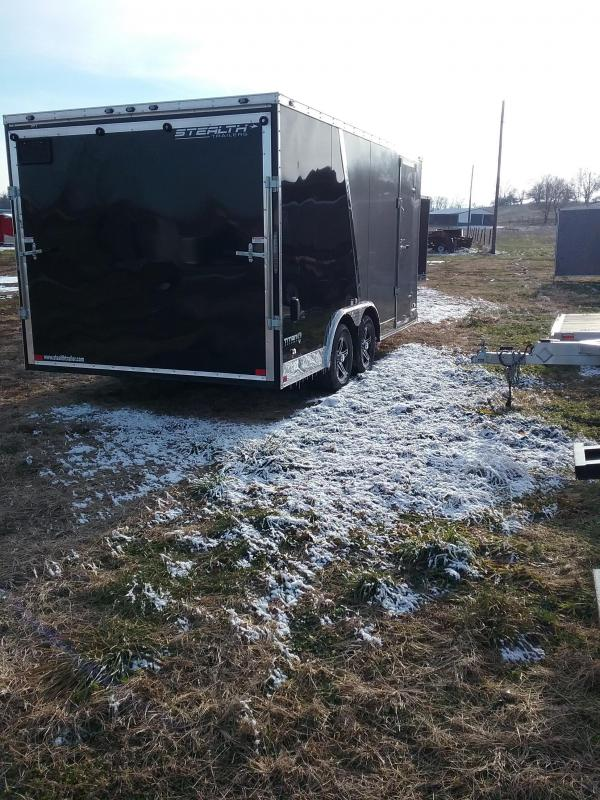 2019 Stealth Trailers 8.5 x 16 Titan Enclosed Cargo Trailer