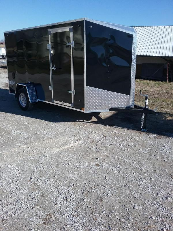 2019 Stealth 6X12 Mustang Enclosed Cargo Trailer