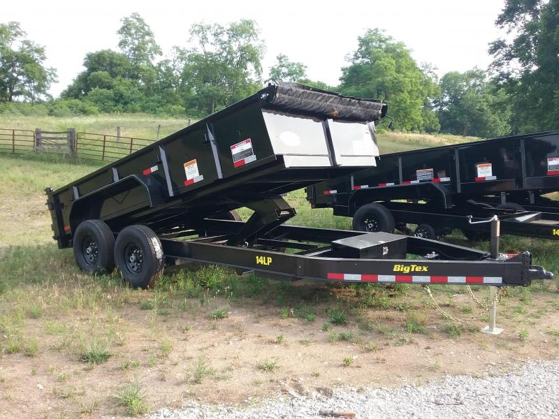 83X14 Big Tex Low Pro Dump Trailer