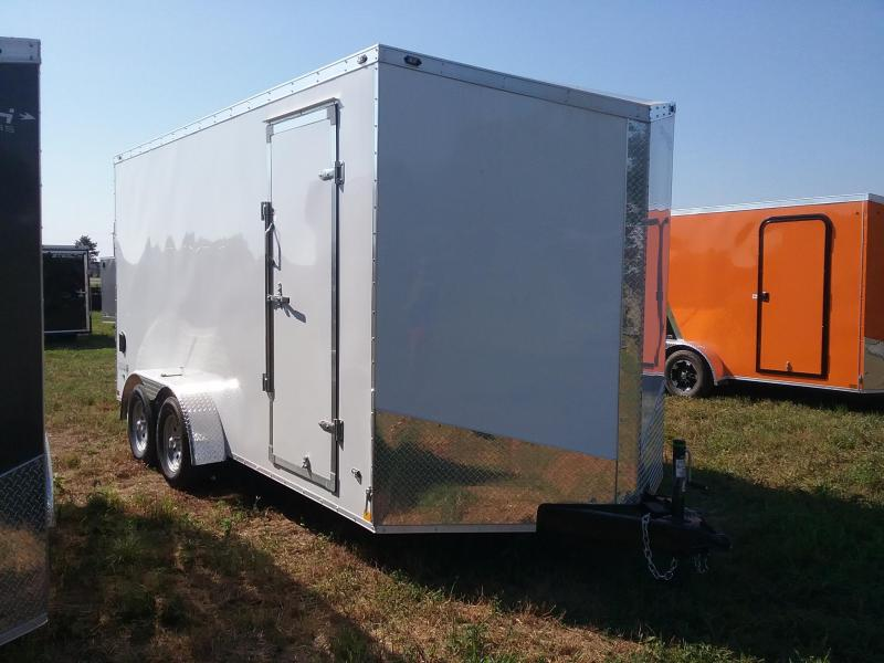 "7X16 (+12"" Extra Height) Stealth Titan Enclosed Trailer"